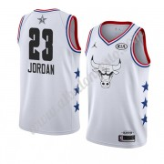 Camisetas NBA Baratas Chicago Bulls 2019 Michael Jordan 23# Blanco All Star Game Swingman..